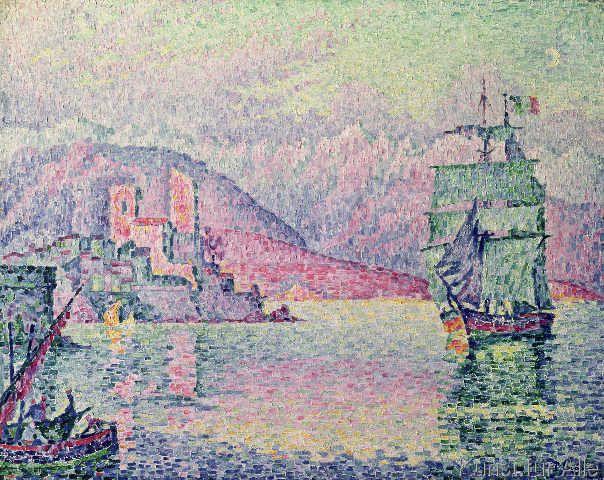 Paul Signac - Antibes, Evening, 1914