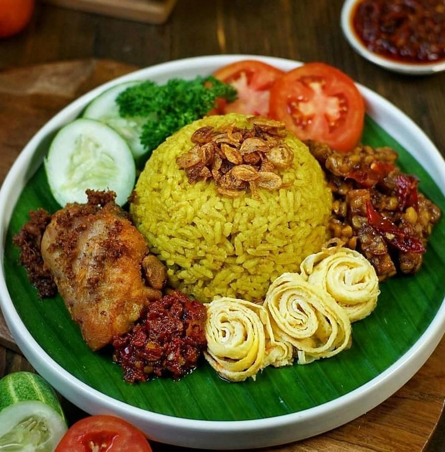 Resep Nasi Kuning Wangi Gurih Dan Pulen Resep Resep Nasi Makanan