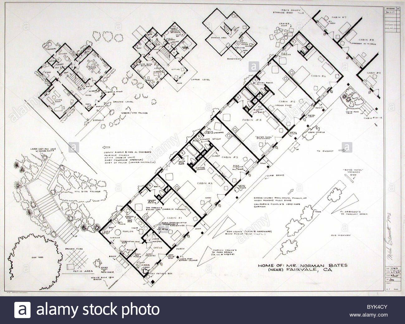 Fantasy Floor plans - Psycho - Bates Motel Ever wanted to build a ...