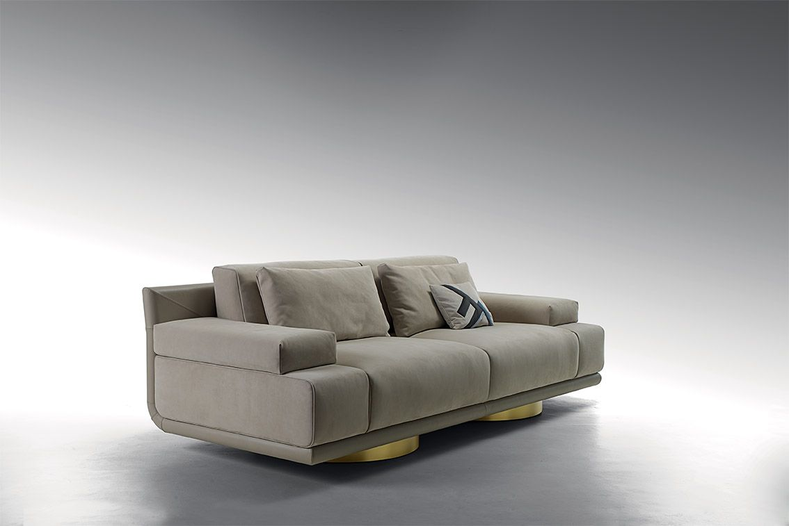 Divani Fendi Artù Sofa From The Fendi Casa By Thierry Lemaire Collection