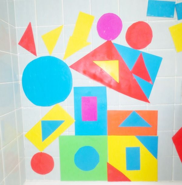 Diy foam bath stickers and Fun Math Activities to do with them ...