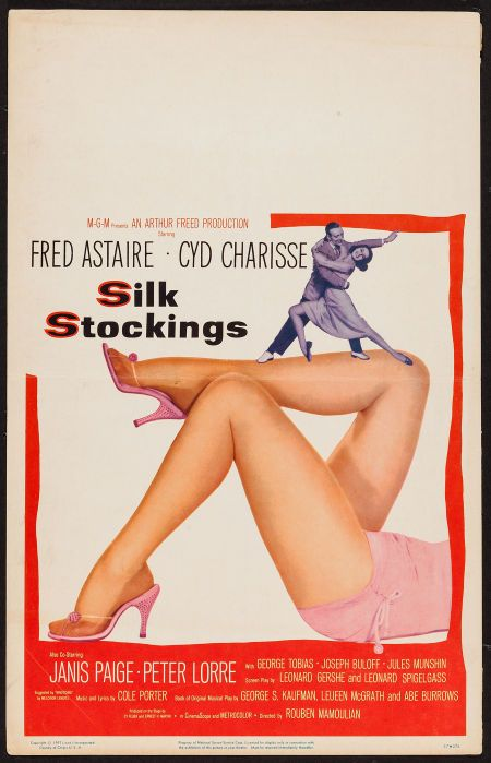 Image result for posters from silk stockings musical