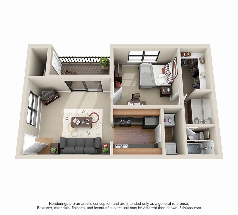 1 Bed 1 Bath Apartment In Decatur Ga Clairmont Reserve Apartment House Home