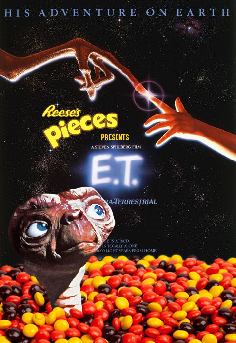 """Product Placement Can Be Powerful : Placements ads work for a number or reasons but studies show the number one reason is a stronger emotional connection with the end user. Plus brands find it easier to target a specific group. Brands have stumbled and missed big opportunities in the past. Mars M&Ms passed on the chance to be the candy of choice in the release of E.T. the Extra-Terrestrial.  You have to ask yourself, """"Would M&M's have melted in E.T.'s hand?"""" Click thru to the full post."""