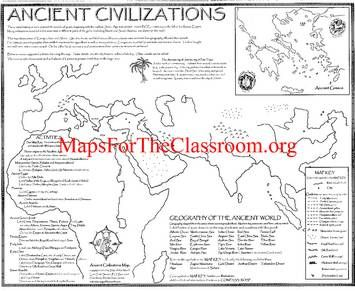 Ancient Civilizations Map | History, Ancient Civilizations ...