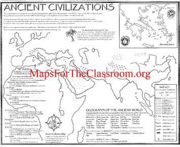 ancient civilizations map history ancient civilizations montessori great lessons 3 4 5. Black Bedroom Furniture Sets. Home Design Ideas