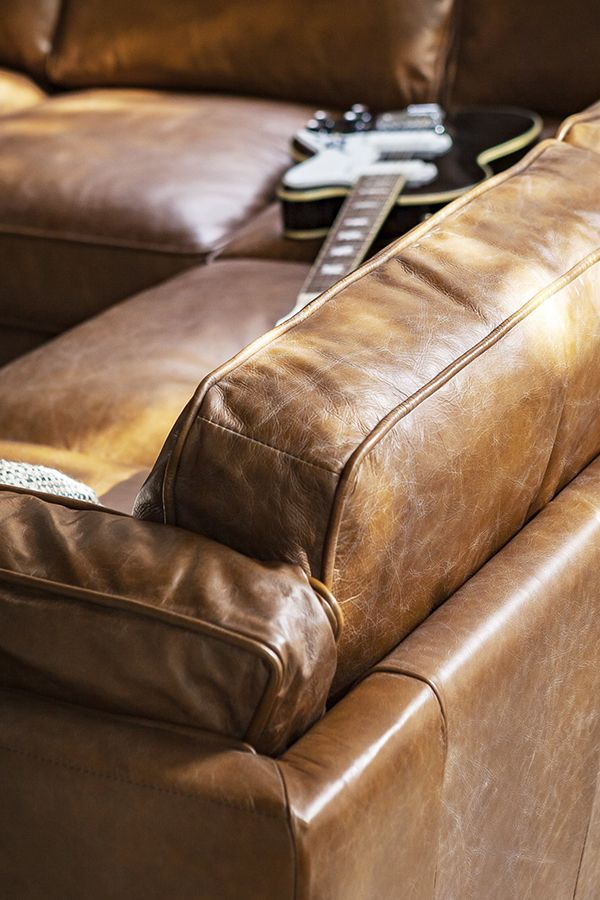 Voluptuous Leather Need We Say More About This Sofa