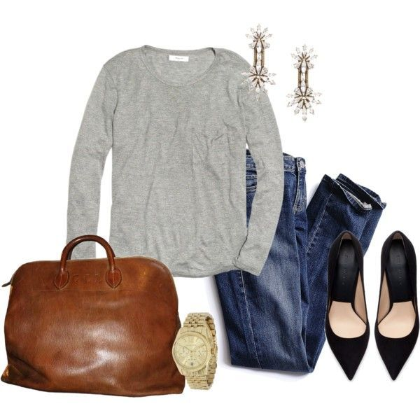 """""""Simple and Chic"""" by angela-reiss on Polyvore"""