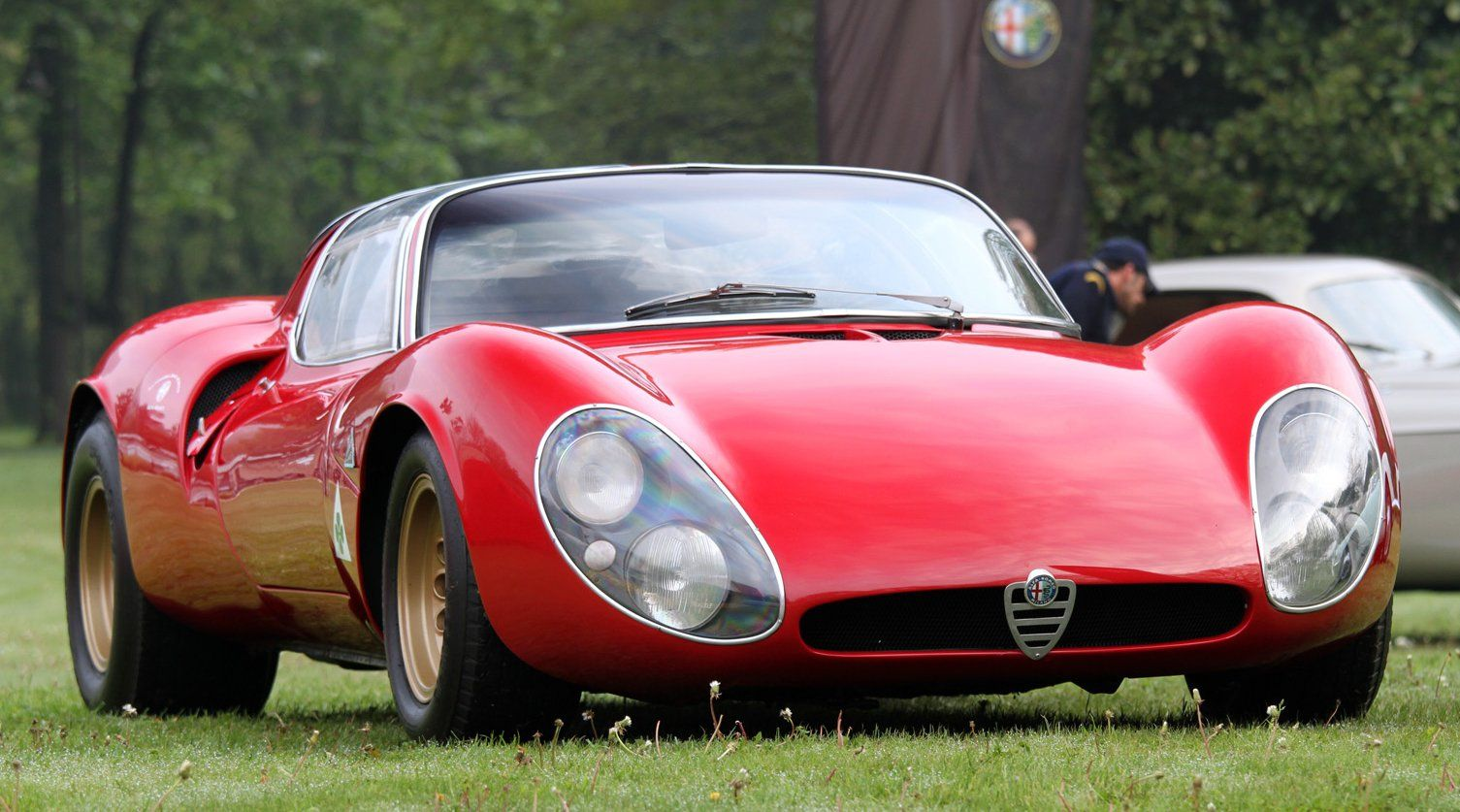 ❦ 1968 Alfa Romeo 33 Stradale