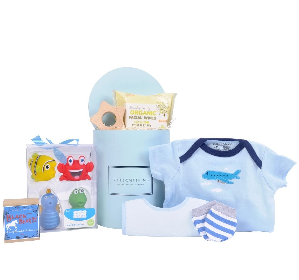 Bathtime Delight Gift Box for Baby Boy | Baby Hampers | Pinterest ...