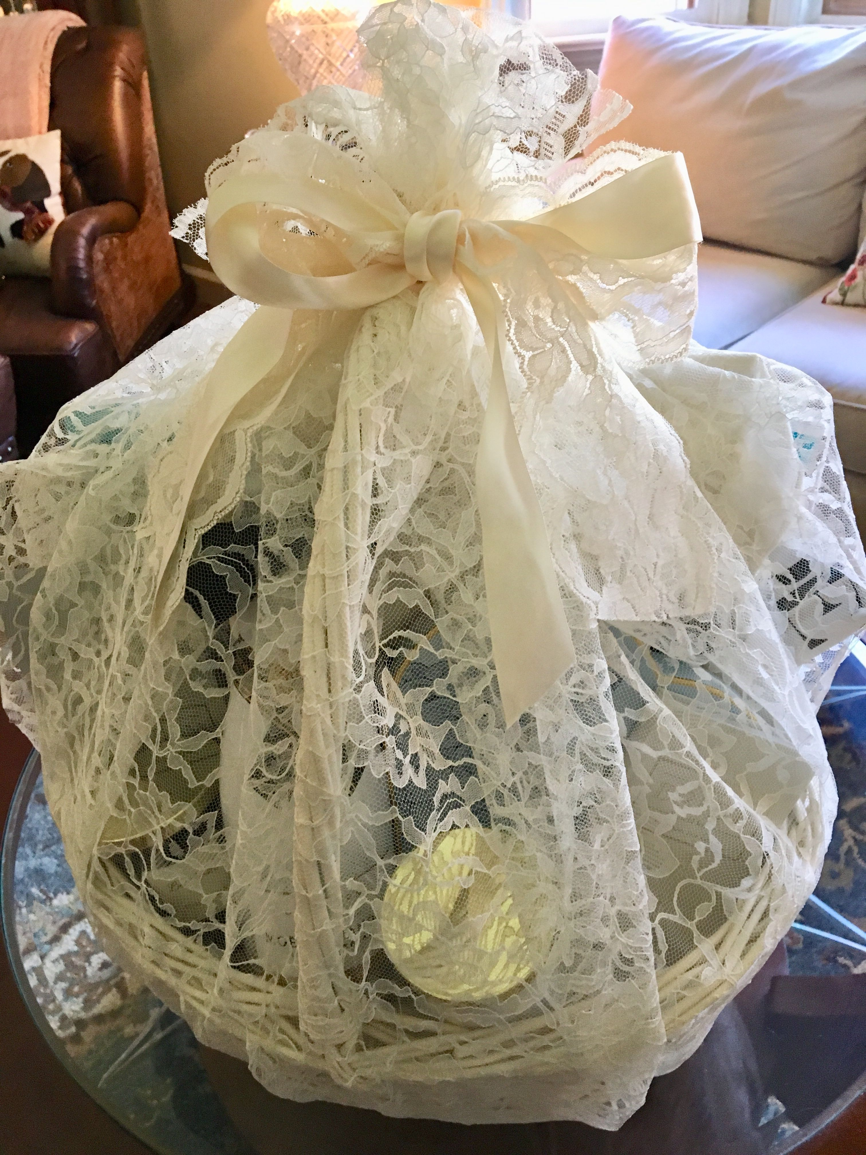 Engagement Gift Basket For Couple Basket Includes Happily Ever