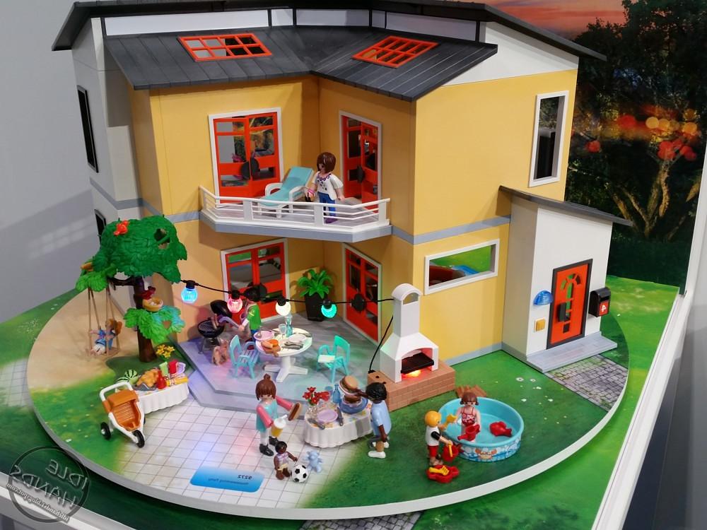 maison moderne playmobil un jouet pas