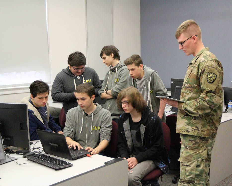 Drone Wars Enhance Students Cyber Skills Army Bloomsburg University Student