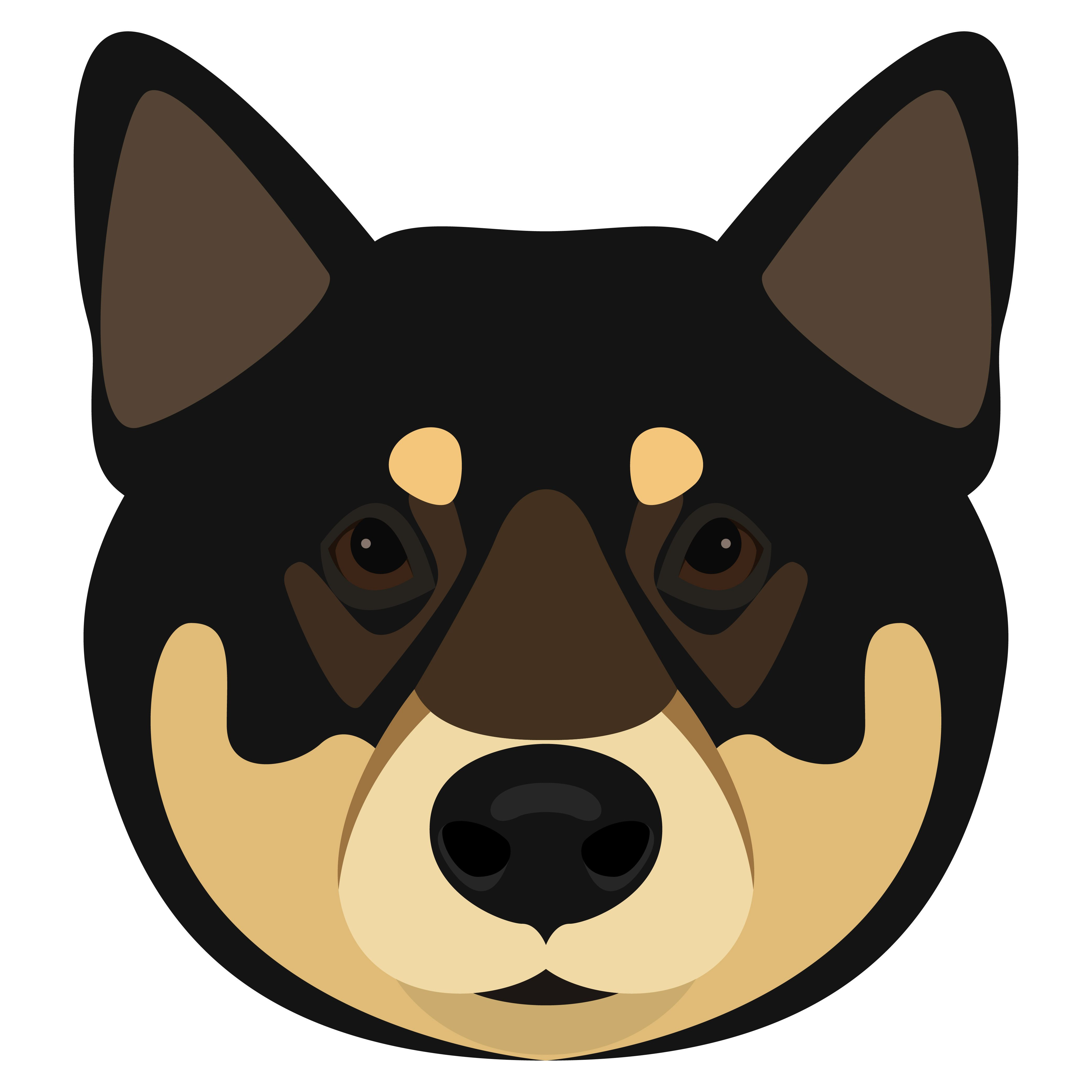 Sibu Ina Dog Animal Clipart T Shirt Dog Head Print 733177 Characters Design Bundles Dog Portraits Cartoon Head Animal Clipart