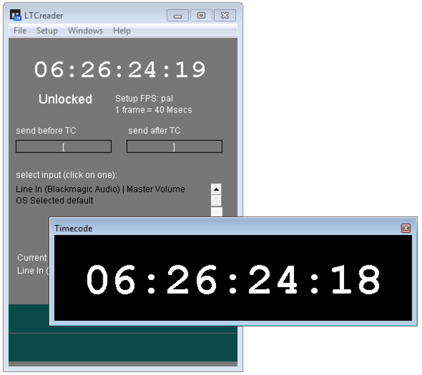 LTC-MIDI reader/converter - Videotoolshed | TIMECODE