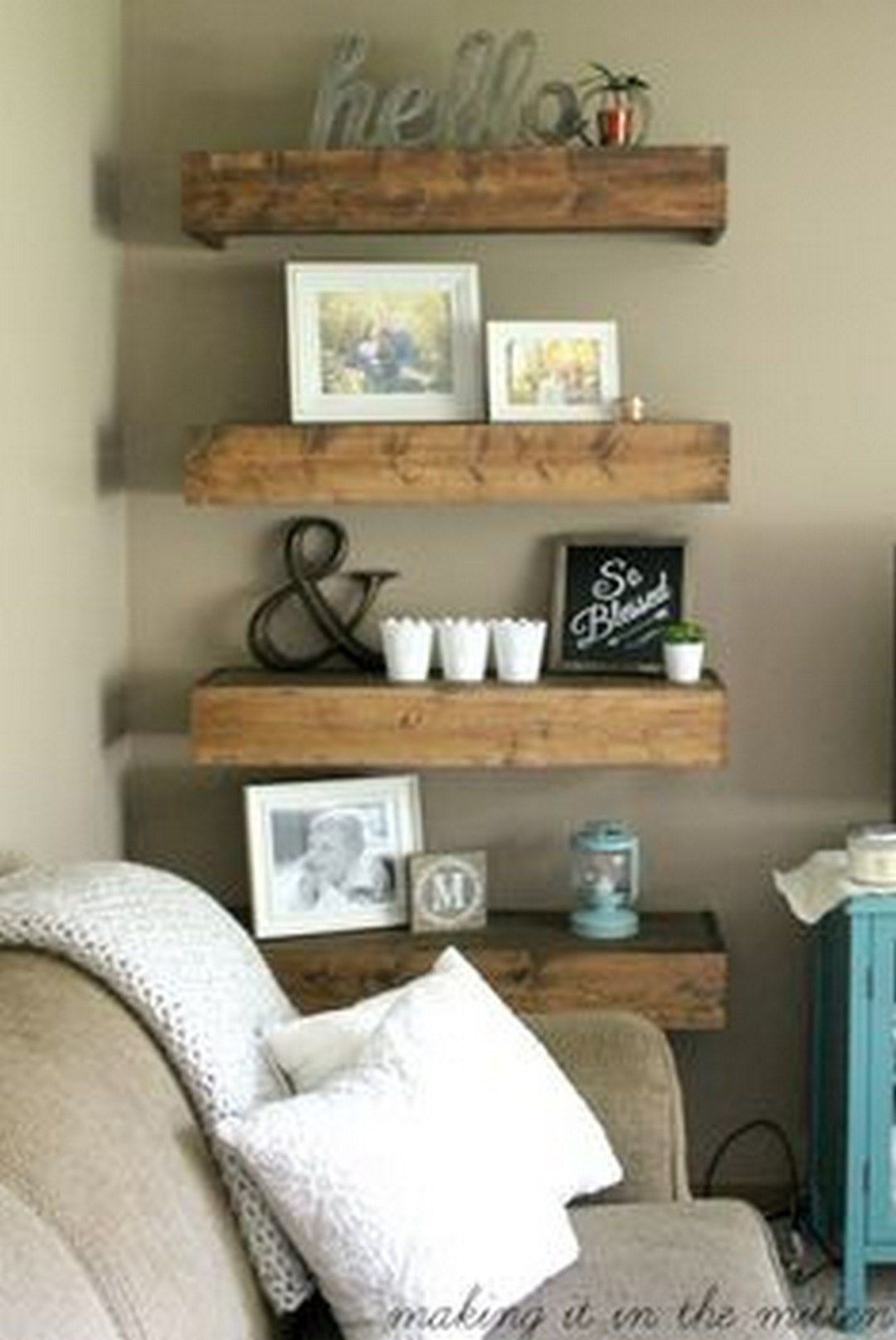 99 Incredible DIY For Rustic Home Decor (41)