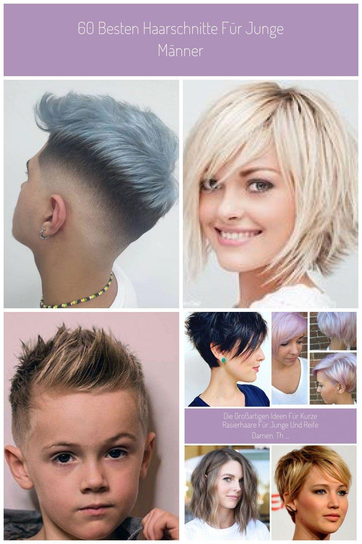 60 Besten Haarschnitte Fur Junge Manner Die Neuesten Frisuren Fur Junge Ma In 2020 Haarschnitt Haarschnitt Kurz Neue Frisuren