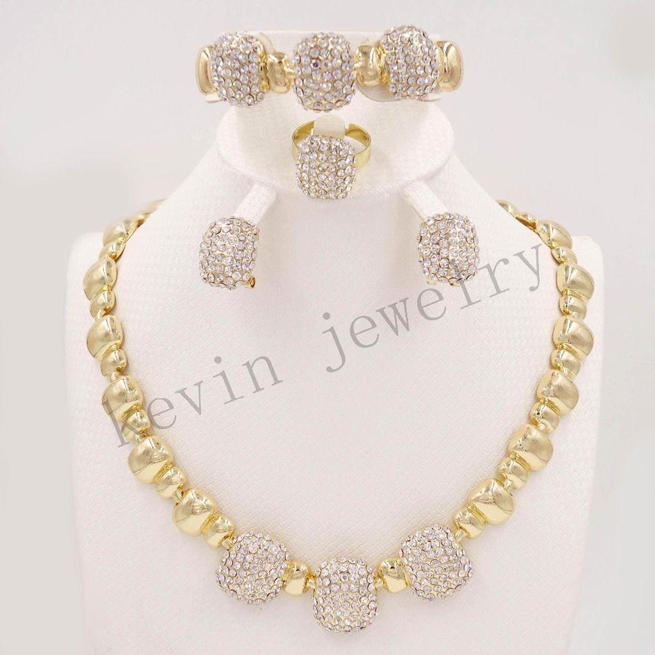 Fashion african dubai goldcolor pearl fashion gold design romantic