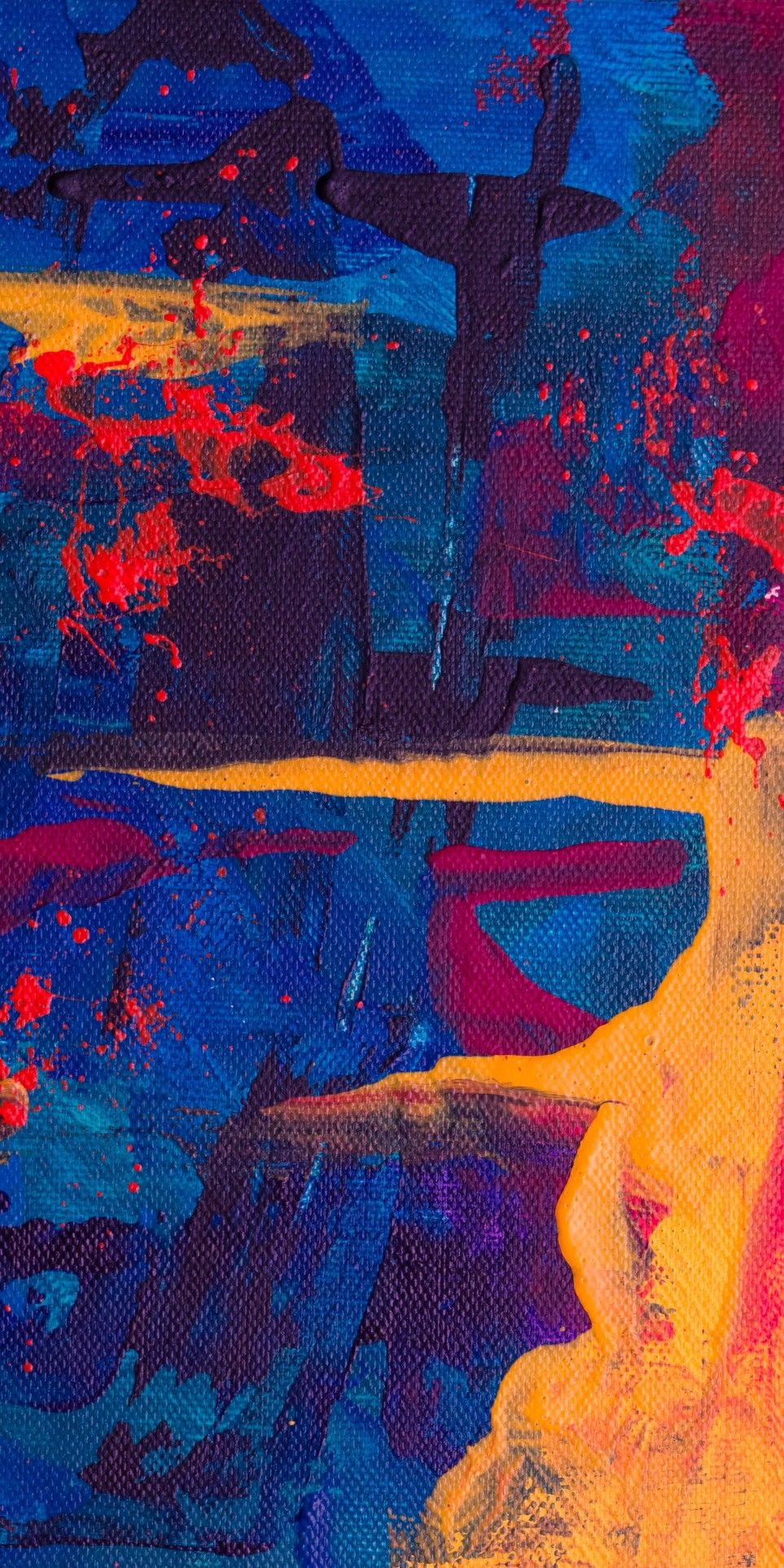 Abstract Art Wallpaper Iphone Abstract Painting Wallpaper