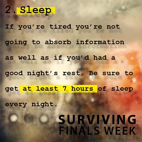 (SFW) - Sleep | Study tips, Finals week, Do not eat
