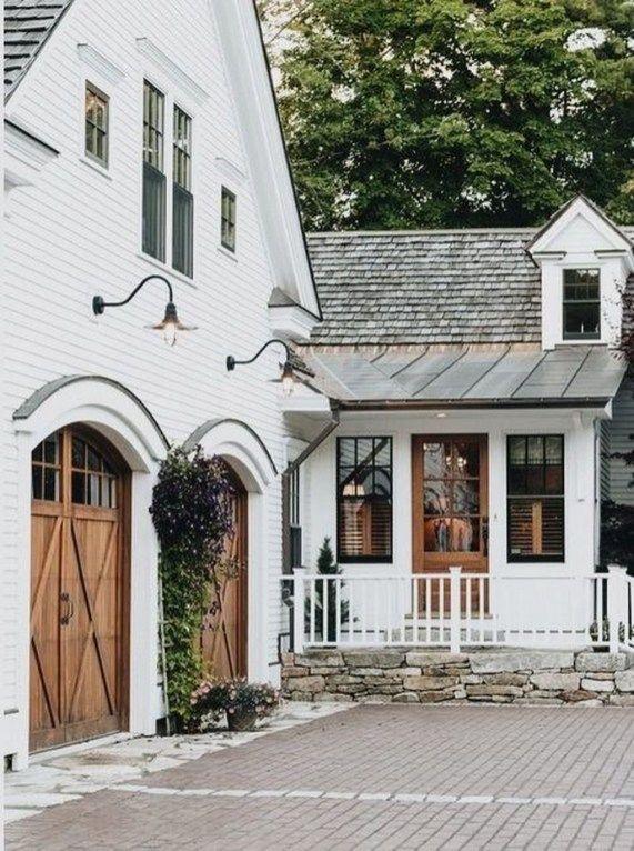 Cozy Modern Farmhouse Architecture Ideas 07 | |home| | Pinterest ...