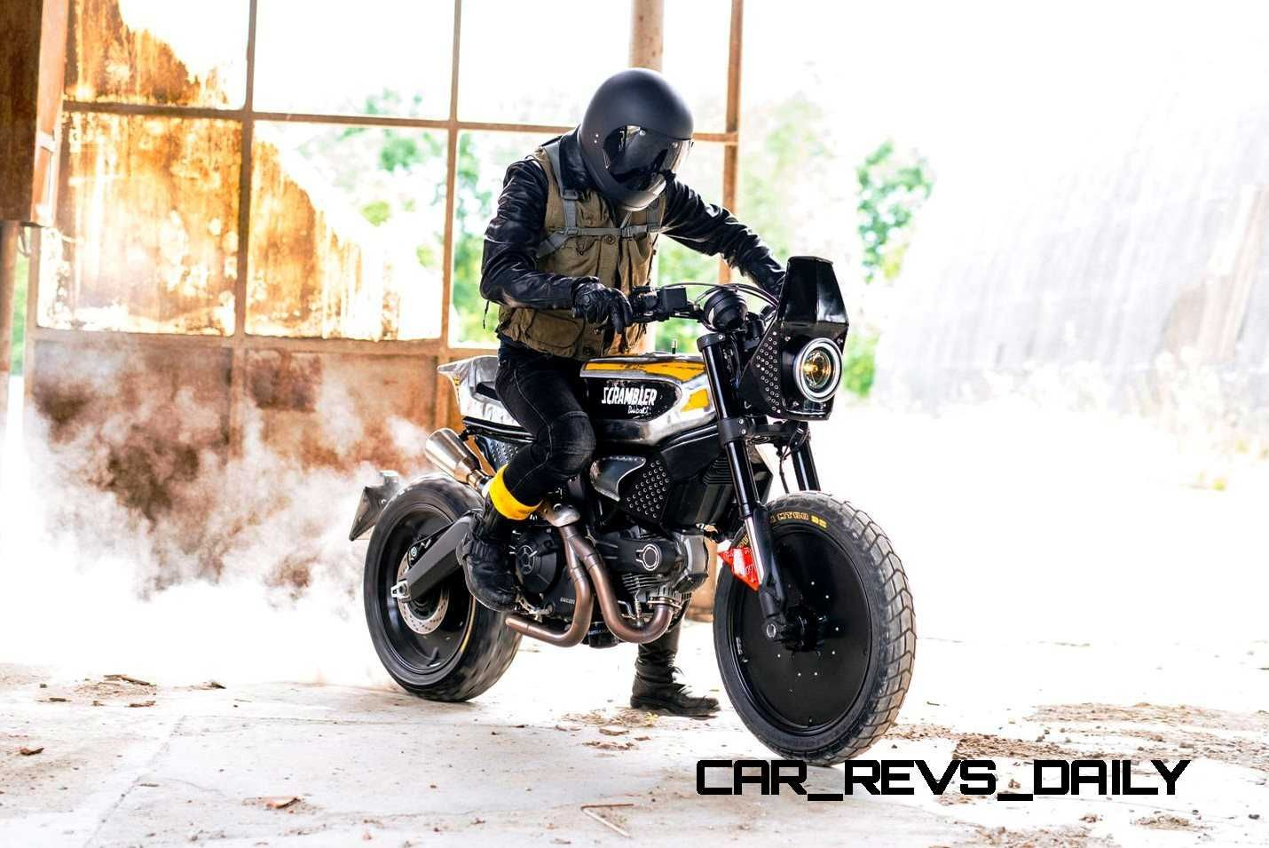 2015 Ducati Scrambler In Two Specials: SC-Rumble by VIBRAZIONI and Scrambler by Radikal Chopper