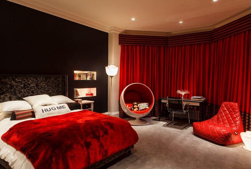 Rot Schlafzimmer Ideen Dekoration Mauern Malen Mobel Schlafzimmer Black Bedroom Decor Red Bedroom Design Und Bedroom Red