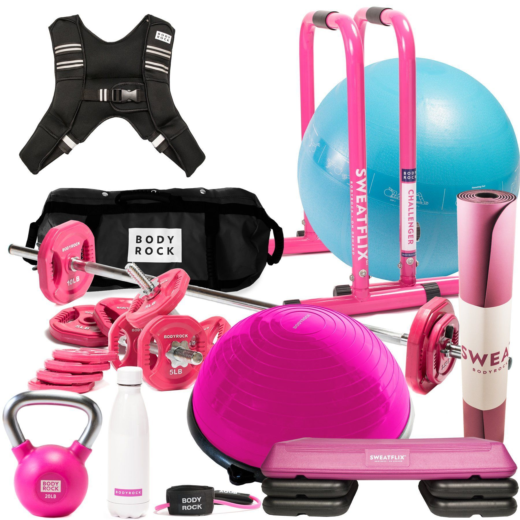 Complete home gym bundle home workout equipment home