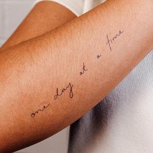 Baby Steps Tattoo - Semi-Permanent Tattoos by inkbox™