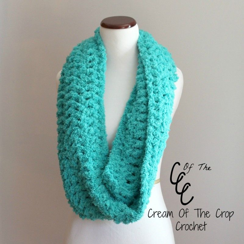 Cream Of The Crop Crochet ~ Chunky Infinity Scarf {Free Crochet ...