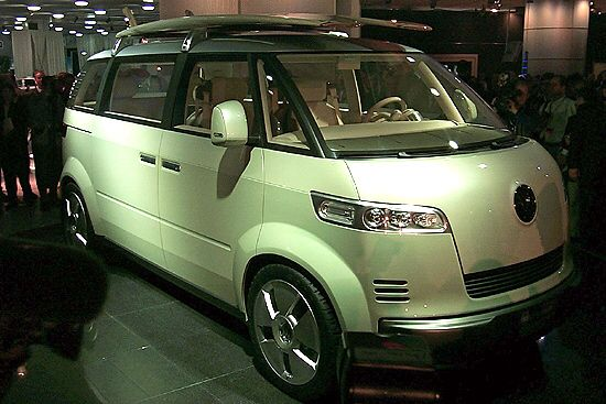 Ford Detroit Auto Show Picture Video Volkswagen Bus Toyota Google Search