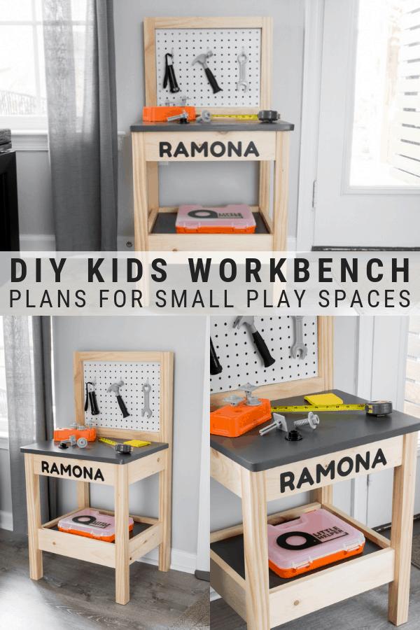 DIY Kids Workbench