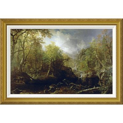 Global Gallery 'Emerald Pool' by Albert Besnard Framed Painting Print Size: 2