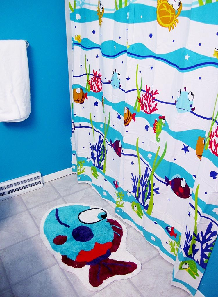 222 Shower Curtains For Kids Bathroom Http Lanewstalk How
