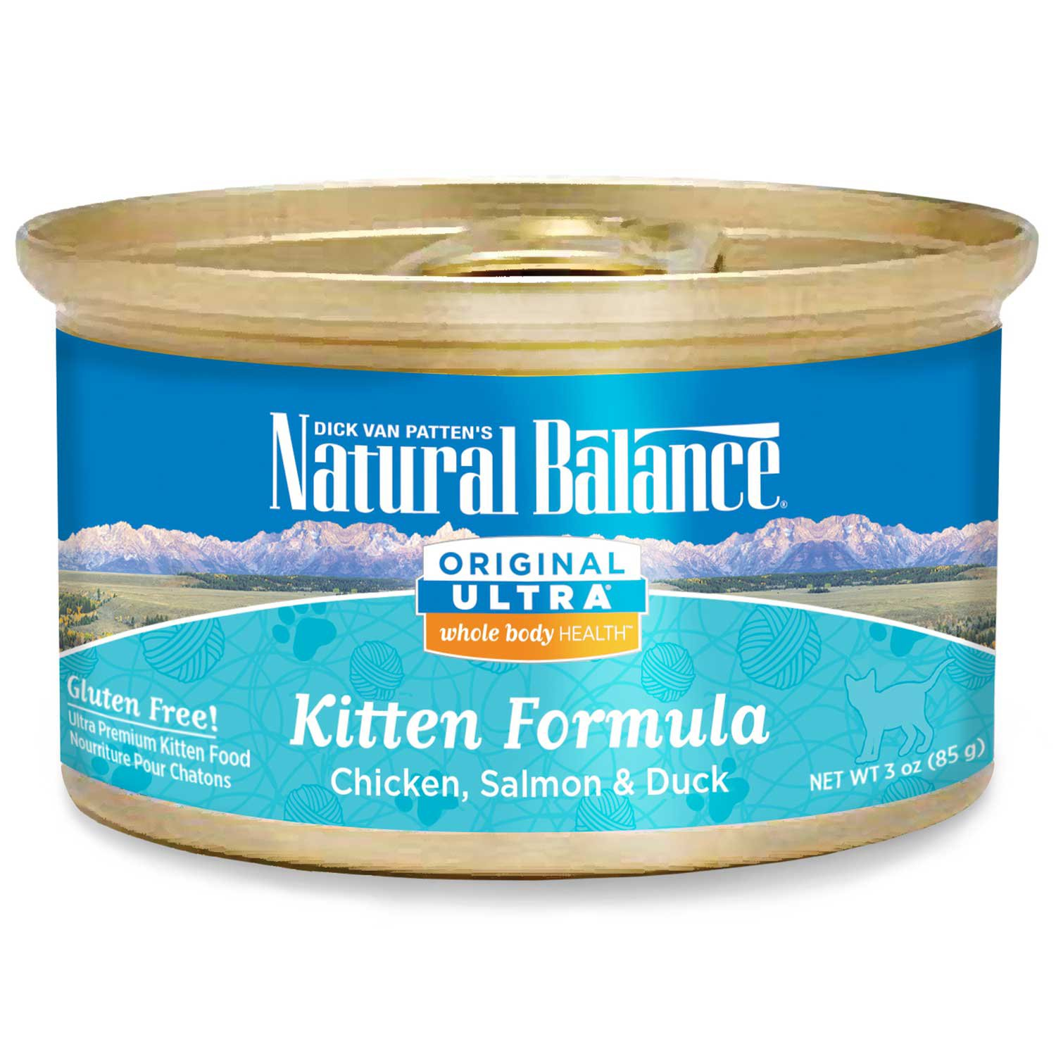 Natural Balance Ultra Whole Body Health Chicken, Salmon