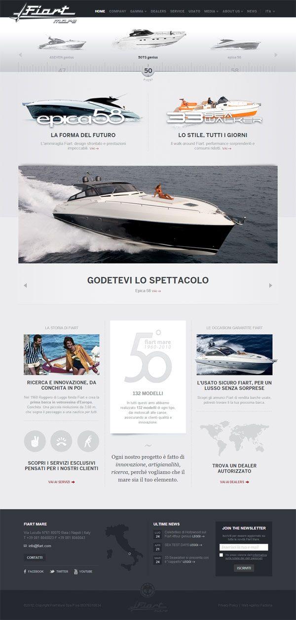 Web Design Inspiration – Fiat Mare » Frisch Inspiriert