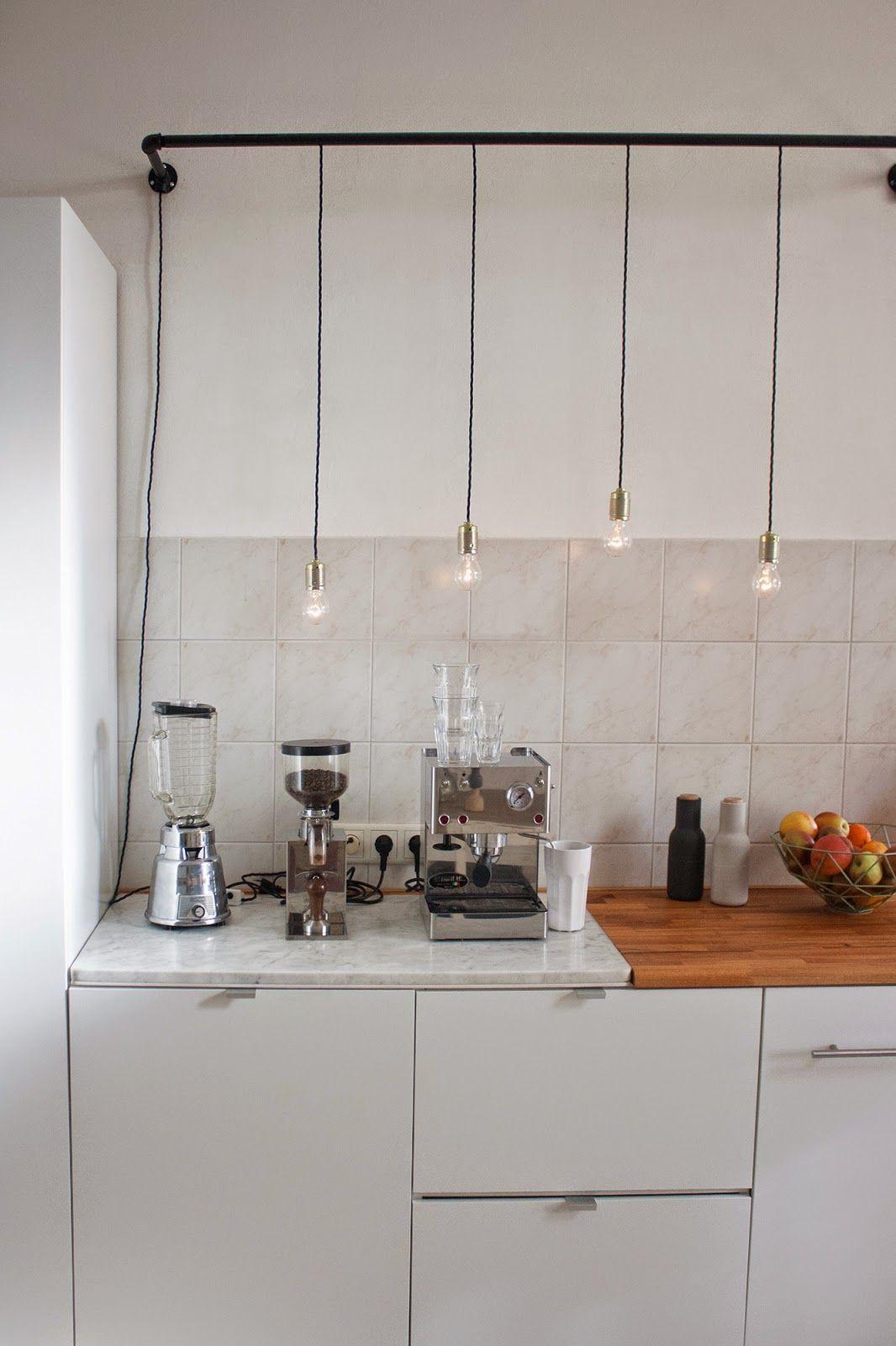 Kücheninsel Mina Schwarz Industrie Look Abzugshaube | Küche | Pinterest