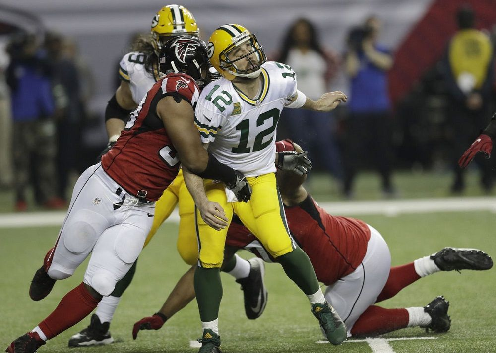 Atlanta Falcons cool off Aaron Rodgers and Green Bay