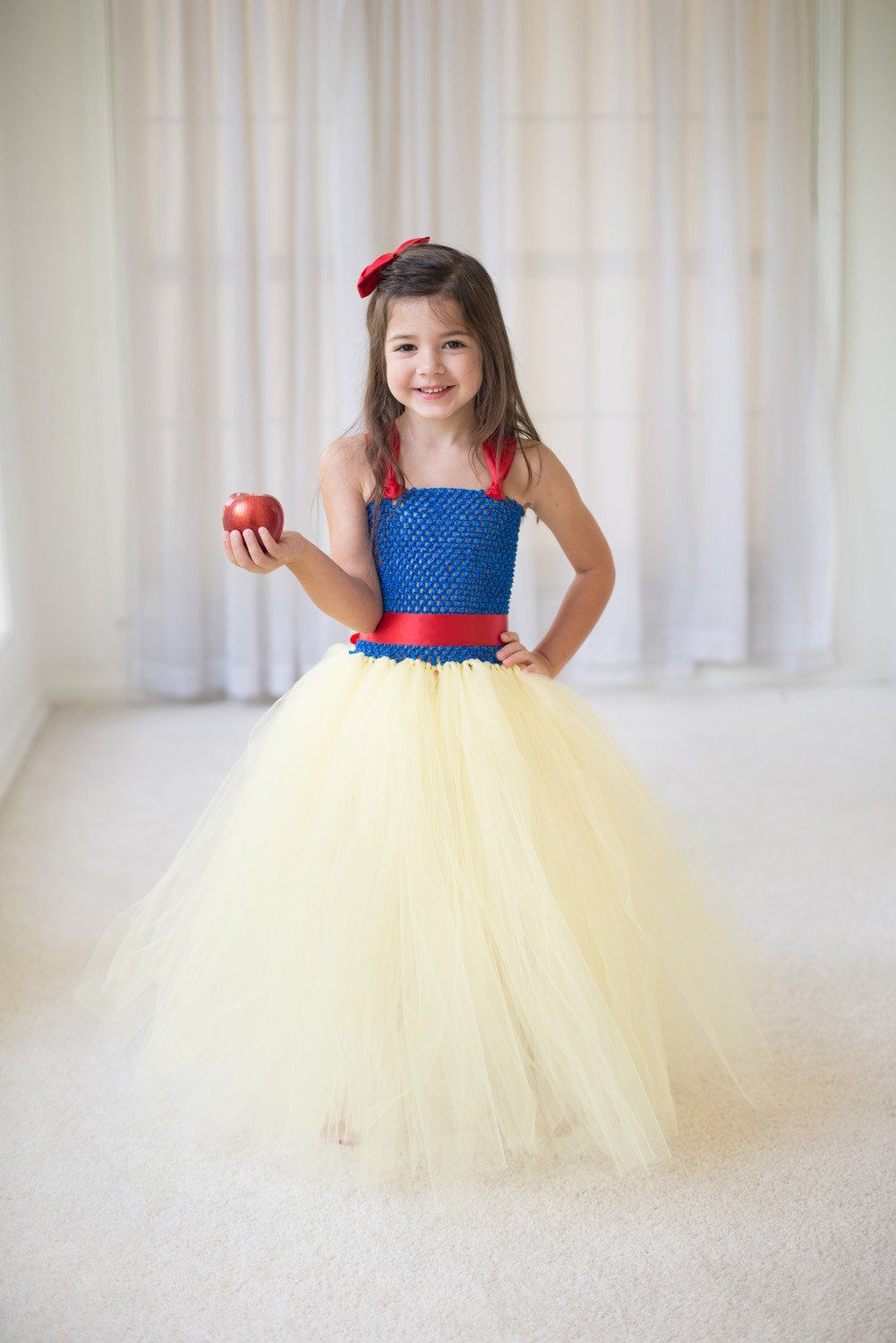 princess inspired tutu costume - cinderella, snow white, rapunzel