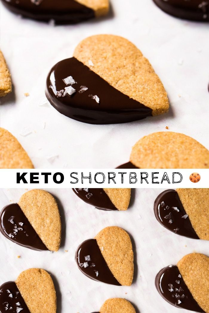Almond!) Gluten Free & Keto Shortbread Cookies