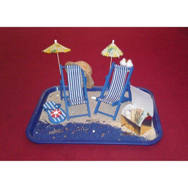 hochzeitsgeschenk geldgeschenk strand flitterwoche von wonderland4u auf geschenke. Black Bedroom Furniture Sets. Home Design Ideas