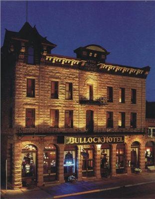 Deadwood Hotels Bullock Hotel