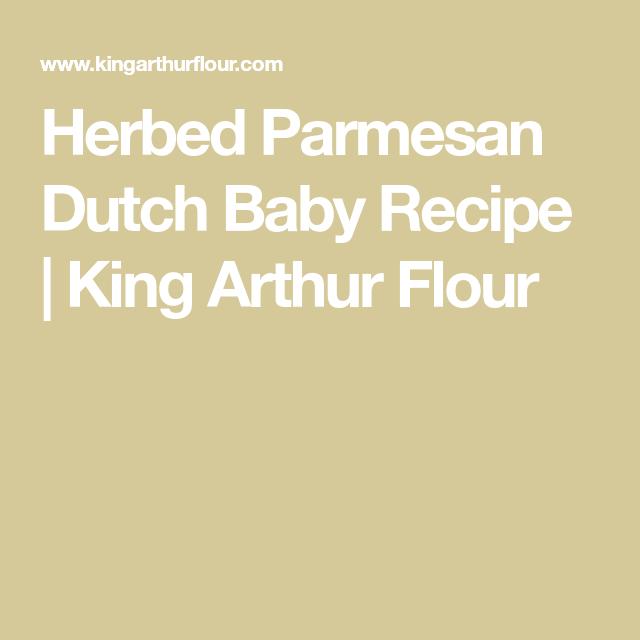 Herbed Parmesan Dutch Baby | Recipe | Dutch baby recipe ...