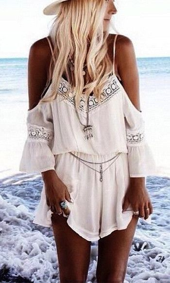 CUT OUT BOHO SHORT JUMPSUIT – KOOGAL