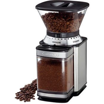Red Breville Smart Grinder With Lavazza Coffee In Blue Kitchen