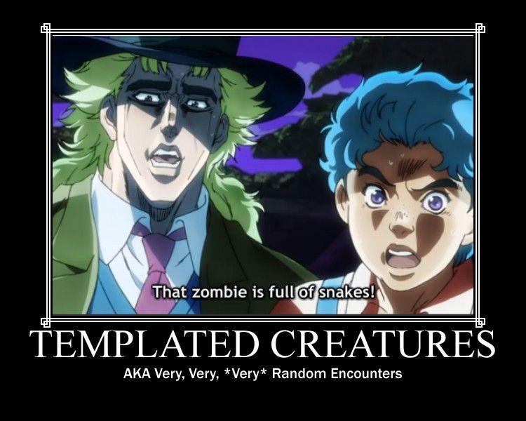 Templated Creatures by Oberon Kenobi