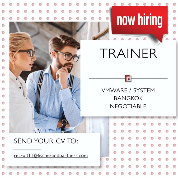 Trainer Vmware System In 2021 Recruitment Agencies Senior Marketing Operations Management