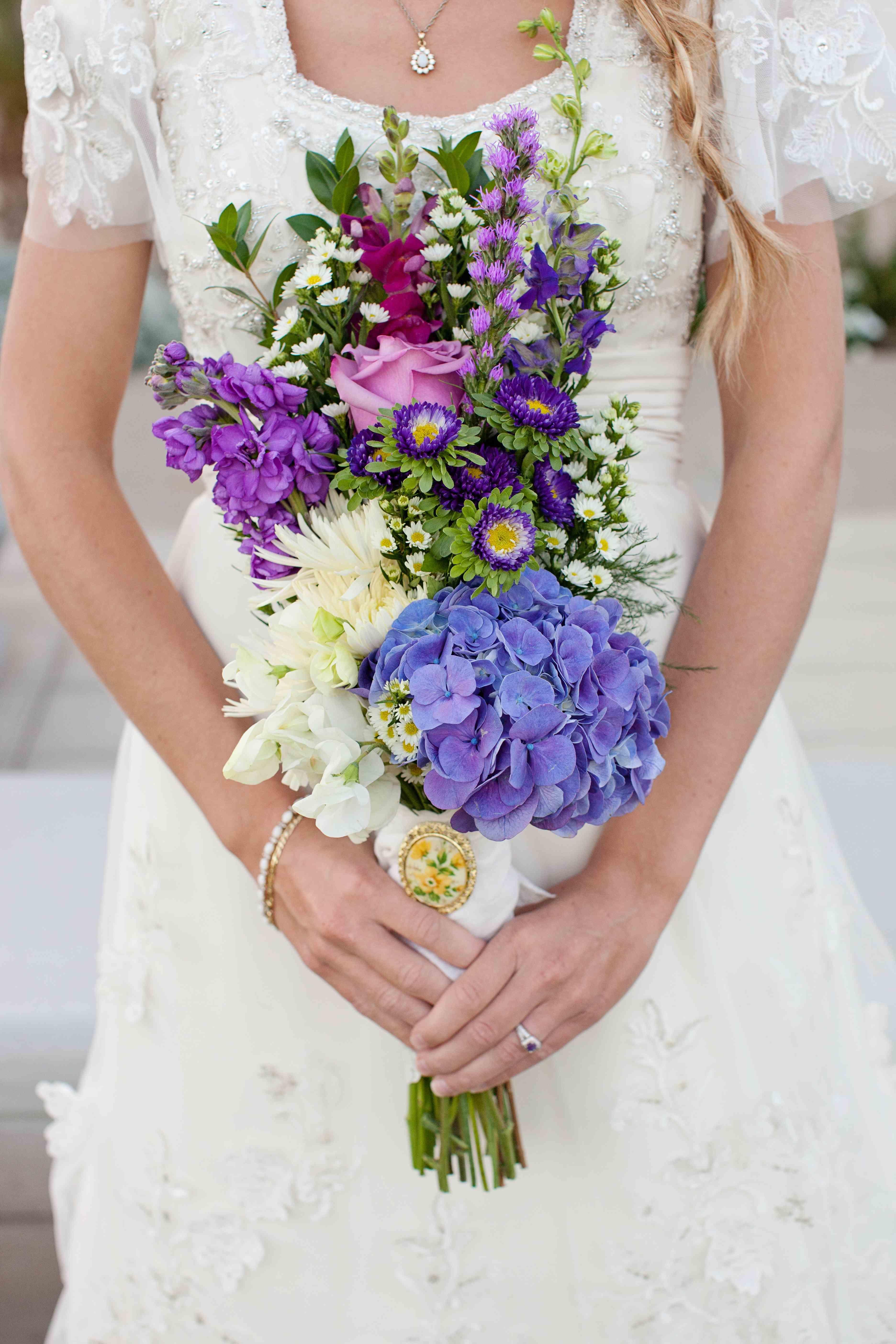 Wildflower Bouquet Daisy Wedding Flowers Affordable Wedding