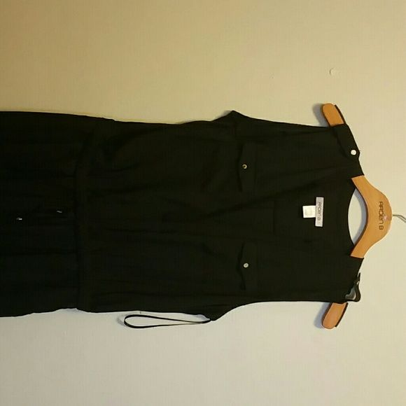 Arden B Romper A black draw string Arden B Romper with gold buttons. I wore this romper once. I wish Arden B was still open I love their clothes and accessories. Arden B Tops
