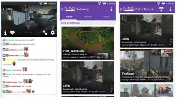 Twitch brings new features on iOS and Android apps